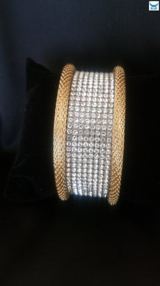 Gold bangle of chains (Limited stock) FREE DELIVERY
