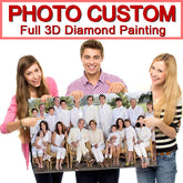 """Photo custom !"" DIY Diamond Embroidery! 5D,Private custom,Full Square Diamond Painting,Cross Stitch,3D,Mosaic,Home Decor,Gift"