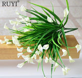 Artificial Mini lily silk flower simulation calla flower bouquet