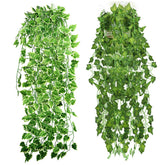 Popular Home Decor Green Plant Ivy Leaf Artificial Flower Plastic