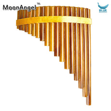 Professional Woodwind bignner Pan Flute 15 Pipes Handmade Bamboo