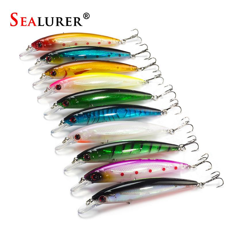 10PCS/LOT 13.5G 11CM Fishing Lure Minnow Lures Hard Bait Pesca Fishing