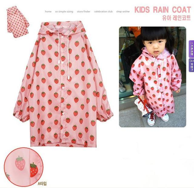 2-4 ears old Kids Rain Coat children Raincoat Rainwear Rainsuit,Kids