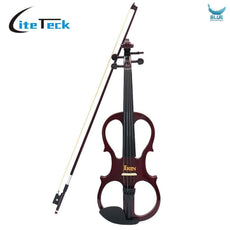 4/4 Electric Violin Fiddle Wood Maple Stringed Instrut with Ebon
