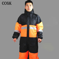 CCGK Winter working clothing outdoors thermal protection unims mens
