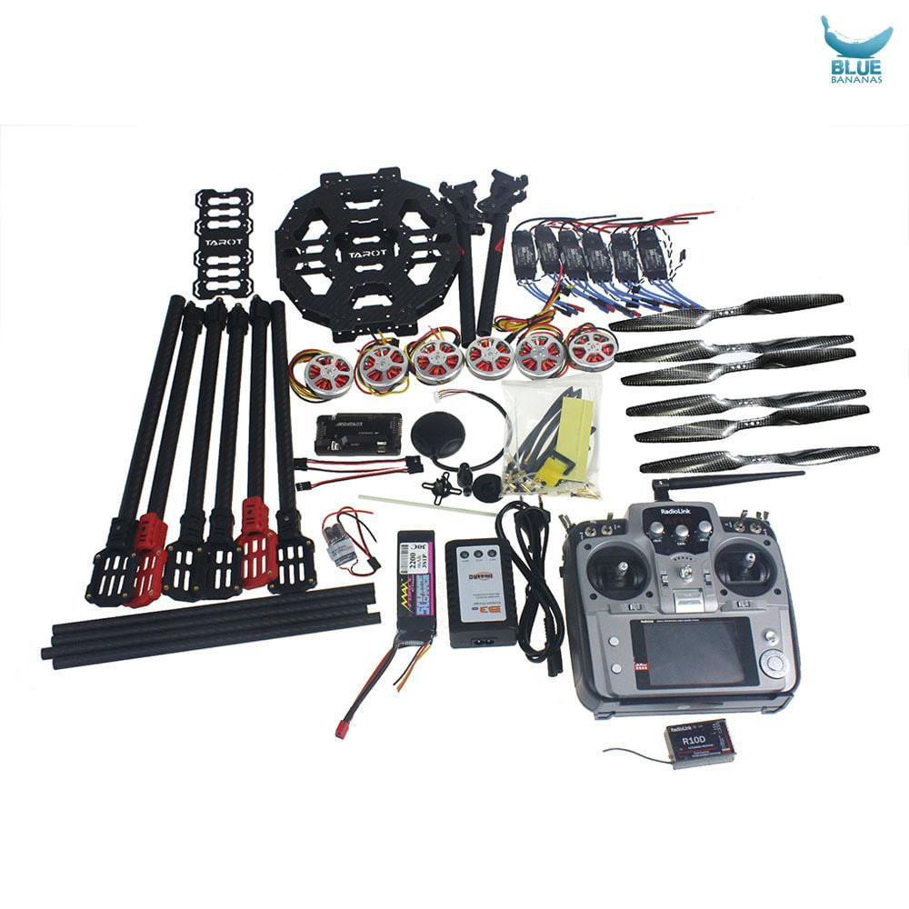 Full Set Hexacopter Drone 6-axis Aircraft Kit Tarot FY690S Frame ...