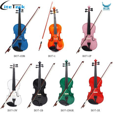 High Qualit 4/4 Violin Fiddle Basswood Bod Steel String Arbor Bow