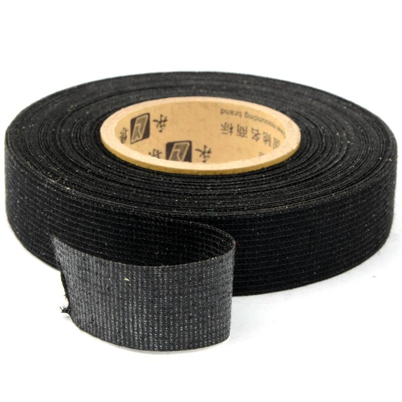 19mmx15m Tesa Coroplast Adhesive Cloth Tape Cable Harness Wiring Loom P28
