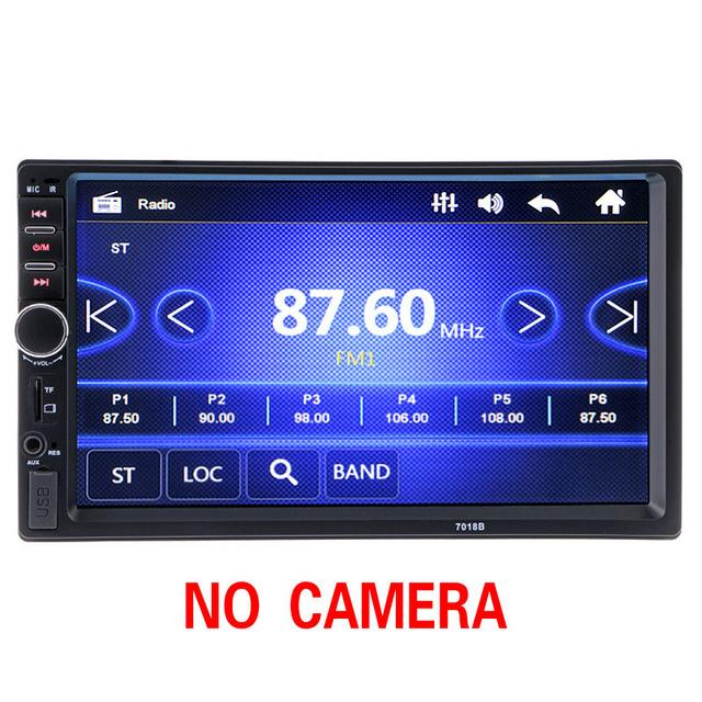 2 din Car Multimedia Radio Player 7 HD Bluetooth Stereo FM Video Audio