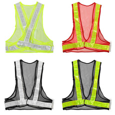 Outdoor High Visibility Reflective Vest Warning Traffic Construction