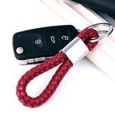 Car Keychains PU Leather Key Holder Car Key Rings Leather Keyring Audi