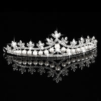 Wedding Hair Accessories Bride Tiara Crown For Headdress Prom Bridal Wedding Tiaras and Crowns Hair Jewelry