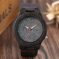 2018 New Arrival Bamboo Nature Wooden Sport Wristwatch Quartz Leather Creative Watches YISUYA Fashion Relogio Bangle
