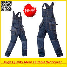 High Quality Mens cargo workwear work wear work overall free shipping