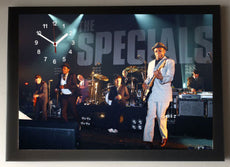 The Specials Picture Wall Clock framed