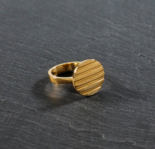 Circulo Ring 24kt Yellow Gold