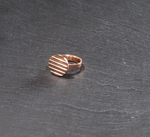 Circulo Ring 24kt Rose Gold