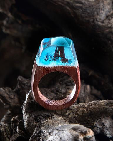 Siberia™ - Handcrafted Wood Resin Ring