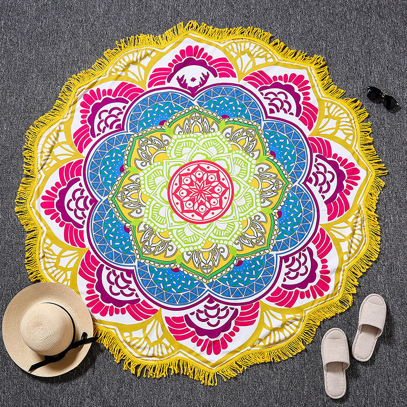 Mandala Shaped Tapestry