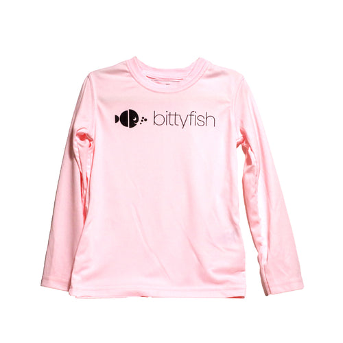 BittyFish Pinkalicious UPF 50 sun shirt, available in sizes 2T - Youth XL