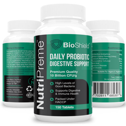 Probiotics 10 Billion CFUS (5 Month Supply)