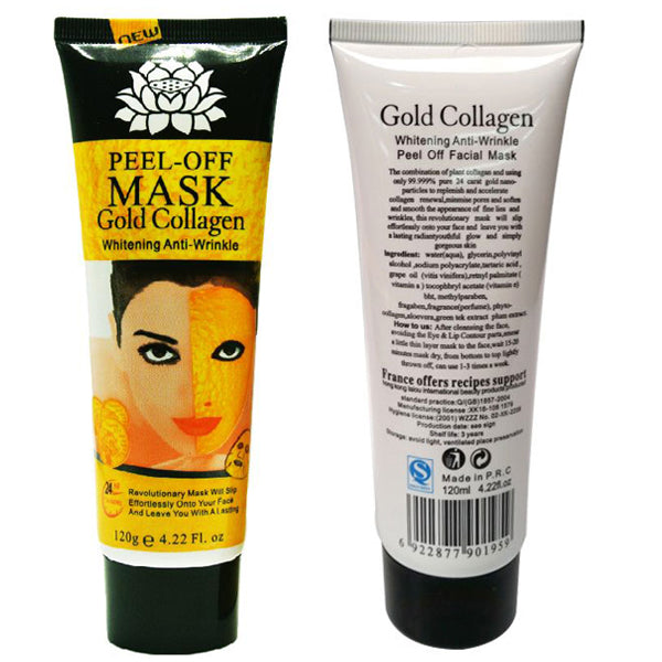 Masque Collagène Gold