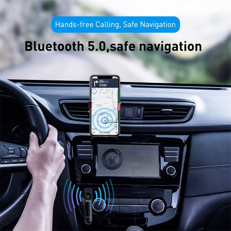 Kit Main Libre Bluetooth Voiture 5.0 | Smart-Car ™