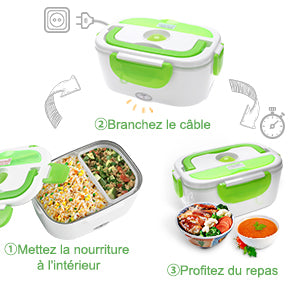 Lunch Box Isotherme Chauffante - WarmBox™