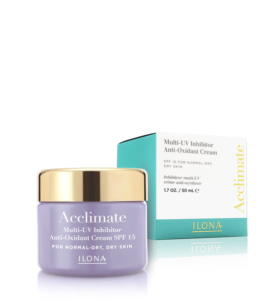 Acclimate® _ Multi-UV Inhibitor Anti-Oxidant Cream SPF 15