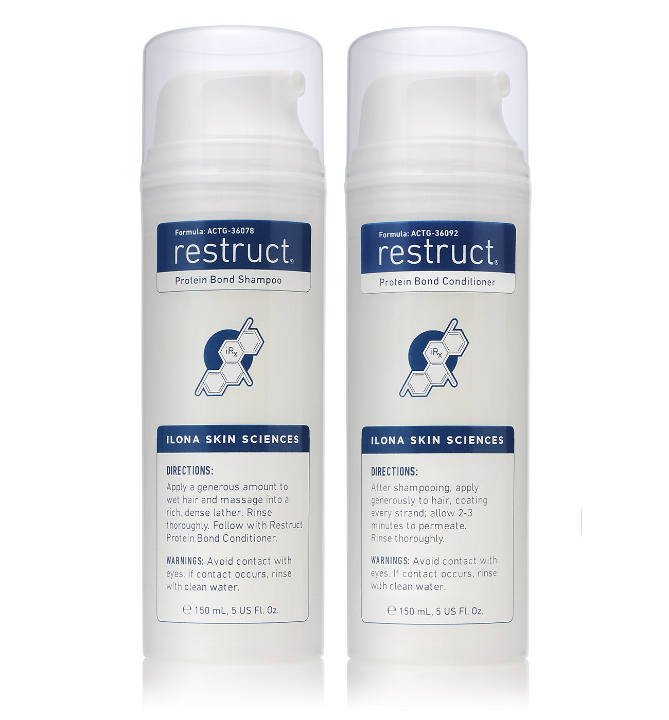 Restruct® _ Protein Bond Shampoo & Conditioner Duo