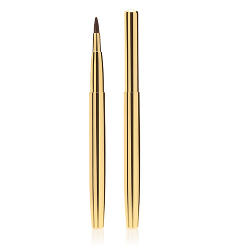 Gold Retractable Lip Brush