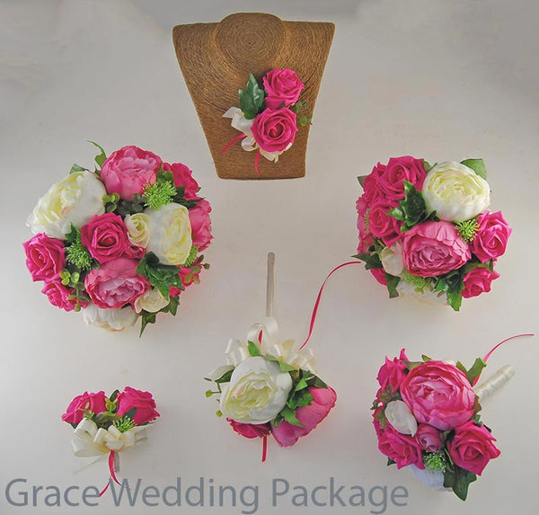 Grace wedding flower packages