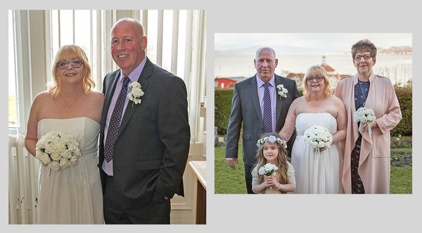 Jacky Mcdade wedding pictures