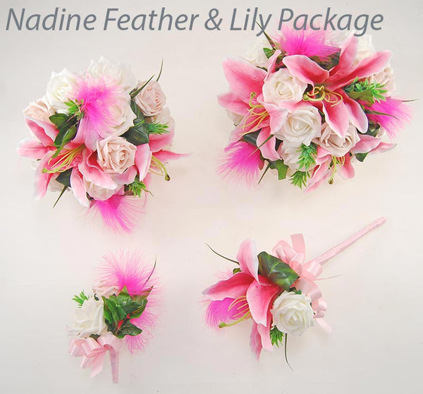 Nadine Feather & Lily Package