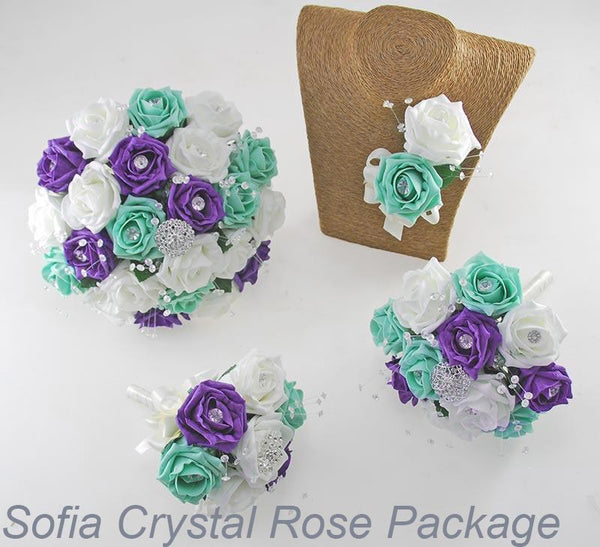 Sofia Crystal Rose Package