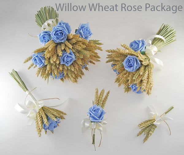 Willow wheat rose packages
