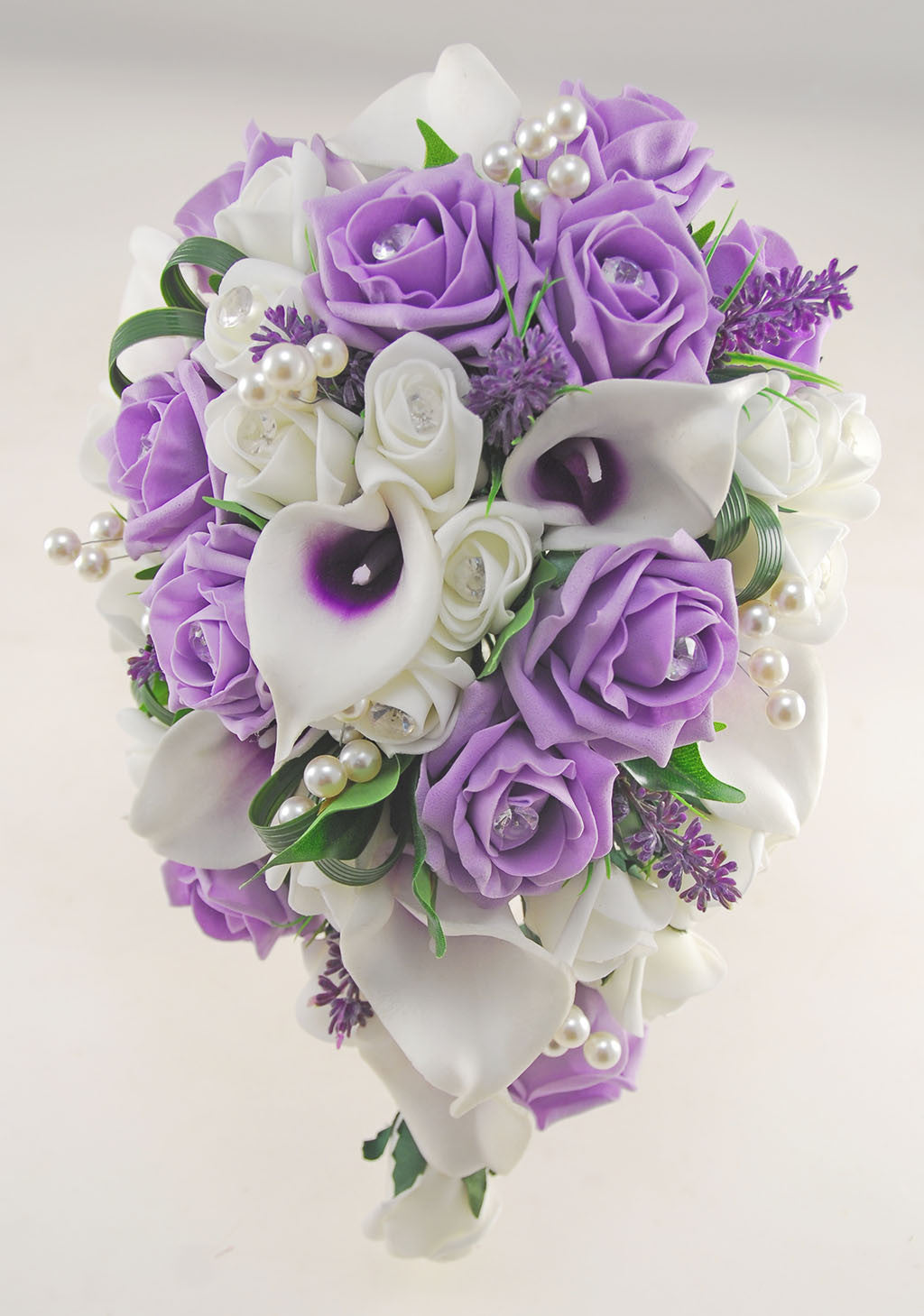 Louise lilac ivory calla lily rose wedding flower package louise lilac ivory calla lily rose wedding flower package brides shower bouquet bridesmaids posy grooms buttonhole izmirmasajfo