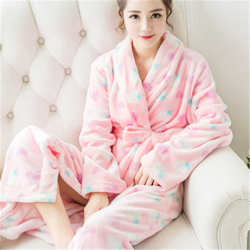 Warm Love Bath Robes