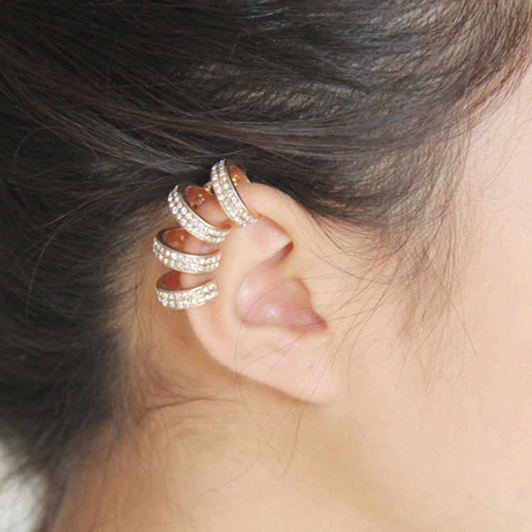 Elegant 4 Loop Ear Cuff