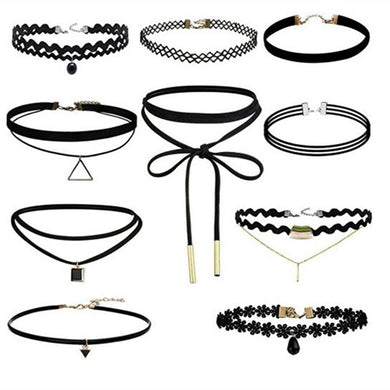 Velvet Lace Chokers Bundles