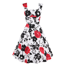Vintage Country Floral Picnic Dress | Available in plus sizes