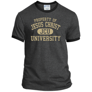 Property of JCU Ringer Tee
