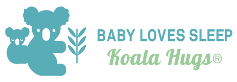 Baby Loves Sleep Koala Hugs swaddle