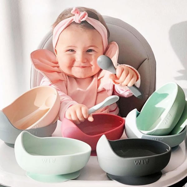 Wild Indiana Silicone Bowl Sets