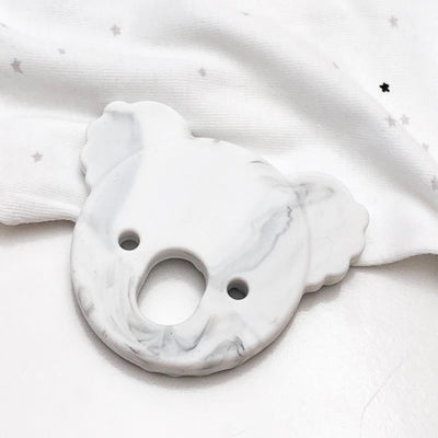 Koala Marble Silicone Teether