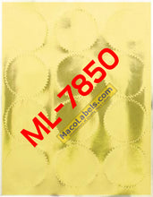 "MACO ML-7850 Gold Foil 2-1/2"" Diameter Notarial Seal"