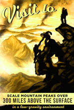 Load image into Gallery viewer, sku-io-visit-ioa-scale-mountain-peaks-poster