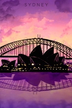 Load image into Gallery viewer, sku-sydney-sydney-travel-poster