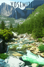 Load image into Gallery viewer, yosemite-national-park-minimalist-wonders-poster