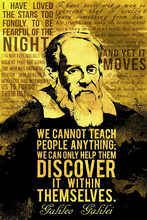 Load image into Gallery viewer, galileo-galilei-science-quotes-poster